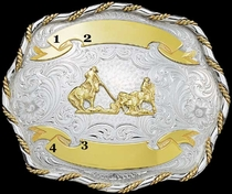 Trophy Buckle G61155 by Montana Silversmiths