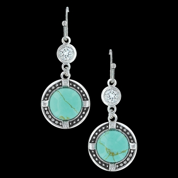True North Turquoise Earrings (ER3218)