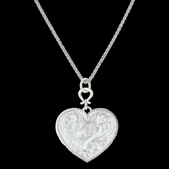 True Western Heart Necklace (NC3107)