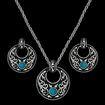 Turquoise Garden Jewelry Set (JS1465)