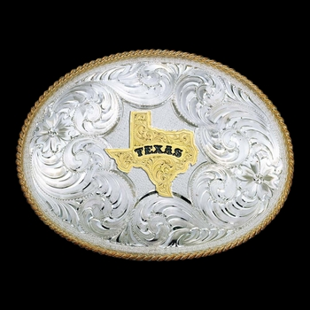 Twisted Rope Texas Buckle (2165-610TX)