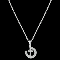 Walking the Path of Faith Horseshoe Necklace (NC3435)