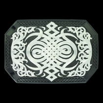Western Celtic Knot Buckle (33210SB)