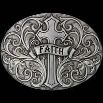 A Banner of Faith Attitude Buckle (A200RTS)