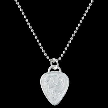 Western Guitar Pick Necklace (NC2675)
