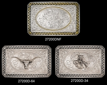 Wheat Trim Antique Silver Buckle