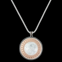 Wide Open Prairie Concho Necklace (NC3345)