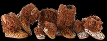 'Wooly Cheetah' Boot Slippers