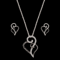 Woven Hearts Jewelry Set (JS2234)