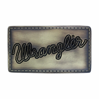 Wrangler® Licensed Patch Attitude Buckle (A370)