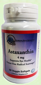 Astaxanthin 4mg - 60 Vegetarian Softgels
