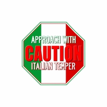 Approach With Caution - Italian Temper T-Shirt