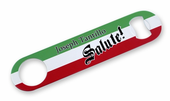 custom italian bottle opener on sale guido gear italian store. Black Bedroom Furniture Sets. Home Design Ideas
