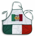 Custom Italian Flag Apron