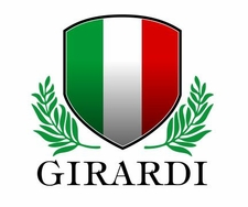 Custom Name Italian Shield Decal Sticker