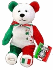God Bless Italy Bear