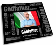 Godfather Mosaic Picture Frame