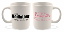 Godfather & Godmother Mug Set