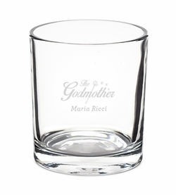 Godfather / Godmother  Rocks Glasses - Set of 4