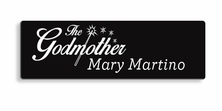 Godmother / Godfather Name Tag
