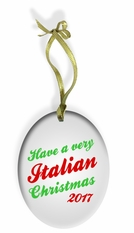 Have a Very Italian Christmas Ornament
