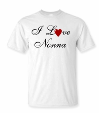 I Love Nonna T-shirt