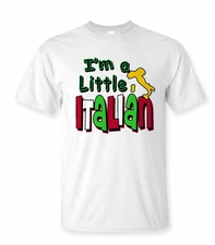 I'm A Little Italian T-shirt