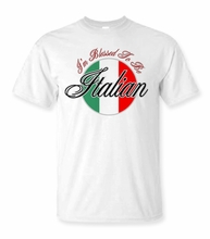 I'm Blessed To Be Italian T Shirt