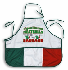 If You Like My Meatballs, You Should Try My Sausage Apron