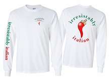 Irresistibly  Italian Long Sleeve T-Shirt