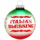italian blessing ornament