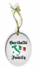 Italian Family Holiday Ornament