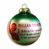 italian prayer ornament
