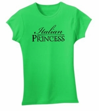 Italian Princess Ribbed Shirt