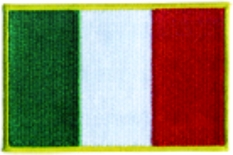 Italy Embroidered Flag Patch