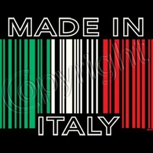 Made In Italy Bar Code Tee
