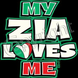 My Zia Loves Me T-Shirt