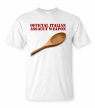 Official Italian Assault Weapon T-shirt