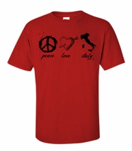 Peace, Love & Italy T-Shirt