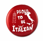 Proud To Be Italian Button