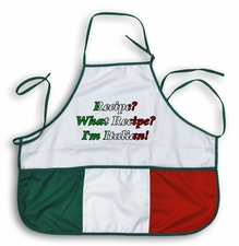 Recipe? What Recipe? Italian Apron
