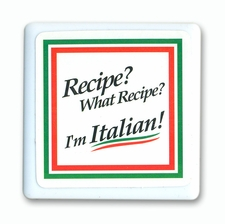 Recipe? What recipe Tile Magnet