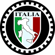 Italia Shield with boot Decal
