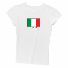 Ribbed Italia Ladies Tee