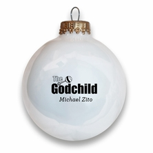 The Godchild Holiday Ball Ornament