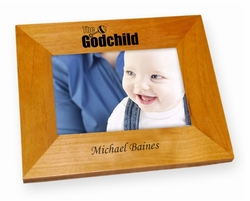 The Godchild Wood Picture Frame