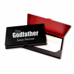 The Godfather Business Card Holder