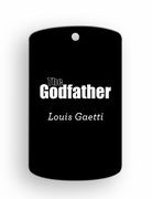 The Godfather Dog Tags