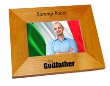 The Godfather Wood Picture Frame