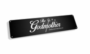 The Godmother Vintage Metal Sign